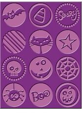 Cuttlebug A2 Embossing Folder - Boo to You - $8