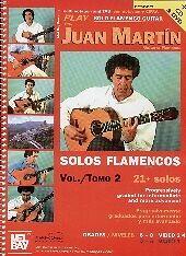 PLAY SOLO FLAMENCO GUITAR MARTIN BK CD & DVD VOL 2