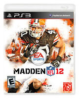 PS3 Madden NFL 2012 Game Brand New for sale