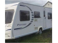 2010 Bailey Pageant Series 7 With Motor Mover For Sale