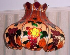 Tiffany-style ceiling lamp (price reduced!)