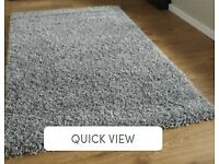 Gorgeous large Rug, in grey, brand new, untouched, unwanted purchase