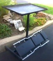 MECHANIC'S CREEPER & ADJUSTABLE TOOL TROLLEY & Adj Stool