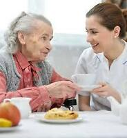 ***** SENIOR CARE ~~~ assisting @ your home or LTC
