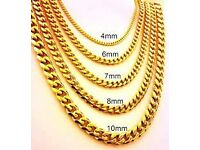 GOLD WANTED, UNWANTED JEWELLERY MUST BE GENUINE