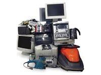 Looking for broken non working Xboxes, laptop, desktops, motors