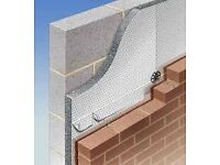 Cavity wall insulation board packs