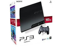 Sony PlayStation 3 Slim Charcoal Black Console (CECH-2503A)