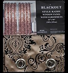 Blackout Window Curtain - Kathy