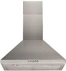 NEW - Indesit UHP 64.5S 60cm Stainless Steel Chimney Hood - BARGAIN PRICE @ £35