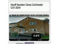 My 2 bed house in Colchester for your 2 bed house in Chelmsford