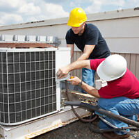 A/c repairs, furnace installation, gas line **great rates**