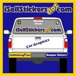I Sell Stickers -Car Window Decals