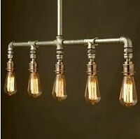 INDUSTRIAL GALVANIZED PIPE LIGHTS