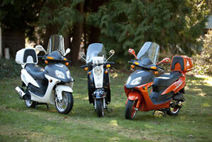 New SAGA Quest 49cc Gas Scooter/Moped on  SALE Now!