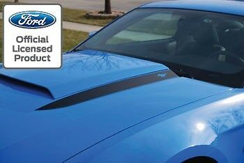 2010 2012 Ford Mustang Hood Spear Cowl Stripe Graphic Decal Sticker Package Lsd