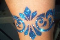 GLITTER TATTOOS Glimmer Body Art - SCHEME A DREAM