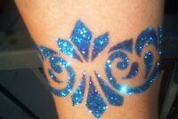 GLITTER TATTOOS Glimmer Body Art - SCHEME A DREAM