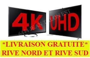MEILLEUR PRIX GARANTI!!! TV 4K 4K 4K ULTRA HD UHD A PARTIR DE ___ 350.00$/// TV SAMSUNG disponible