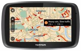 TOMTOM GO 50 NEW BUY IT TODAY 24/11/2016 I HAVE THE RECEIPT AND REPLACEMENT CARE 3 YEARS