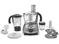 AS NEW Boxed Kenwood FP586 Food Processor, Silver