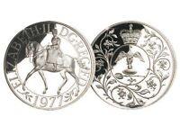 Elizabeth II DG REG FD Commemorative Coin 1977