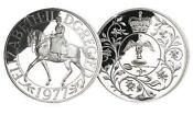 Queen Elizabeth II Crown Silver Jubilee