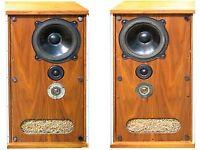 Pair of Vintage Bower & Wilkins (B&W) DM2 Professional Loudspeakers / speakers