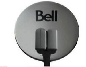 """20"""" HD BELL SATELLITE DISH WITH 2 DUAL LNB'S ( BRAND NEW )"""