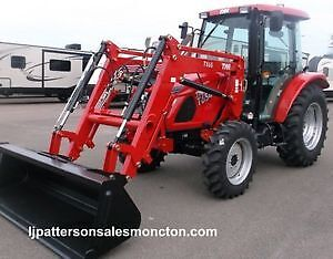 NEW 2017 TYM 654 Tractor with Loader and Cab **TAX EXEMPT**