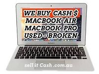 Faulty Broken MacBooks wanted for cash