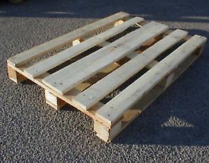 Palette de bois à donner
