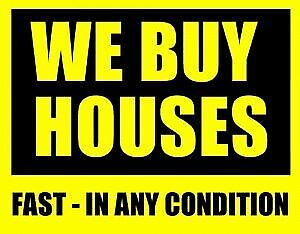 Any condition is bought by us homes