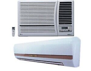 Wanted: Split & window air conditioner service available