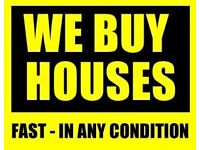 Houses and flats bought for cash - UK only
