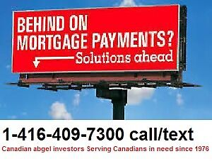 CASH available if you are BEHIND mortgage payments