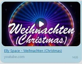 Elly Space: Weihnachten (Christmas) MP3 - Song about Christmas
