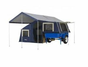Oztrail 6 x 4 camper trailer tows with small car  NEAR NEW COND Oakhurst Blacktown Area Preview