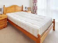 Mattress for a double bed