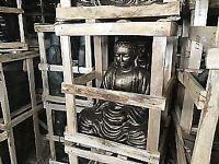 Large buddha garden statue