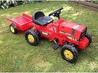 Wanted Childs tractor and trailer