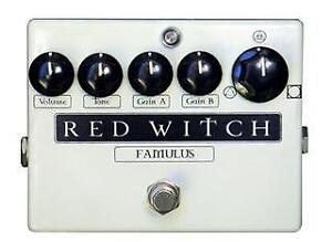 Van Halteren Music Centre Red Witch Famulus Overdrive Distortion Pedal