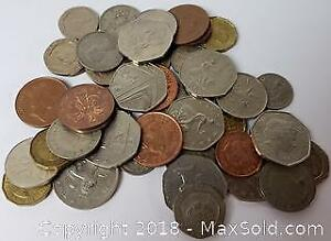 Mixed World Currency Coin Lot