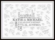 Wedding Signing Frame