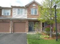 3 bdrm townhouse in north London with garage & finished basement