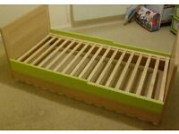 New (cot bed fittings) cot bed with chalk board