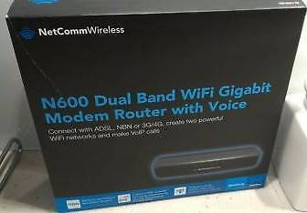 Netcomm N600 Dual Band Wifi Gigabit modem router model: NB16WV-02 Doncaster Manningham Area Preview