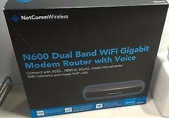 NetComm N600 Dual Band Wireless Modem Router Rostrevor Campbelltown Area Preview