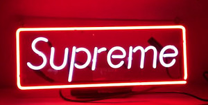 Supreme Neon Sign