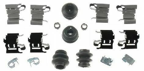 Lexus NX 200t 300h NX200t NX300h REAR Brake Pad Disc Fitting Hardware Kit